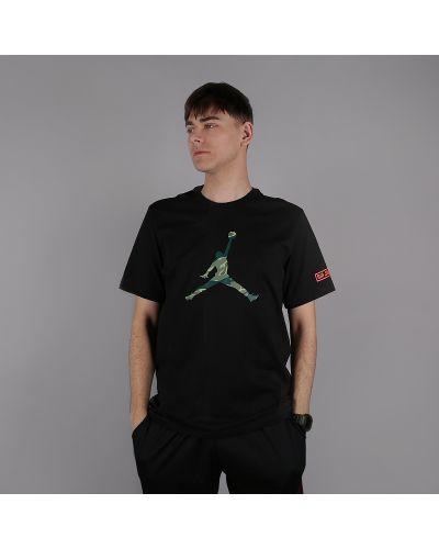 Черная футболка хлопковая Jordan