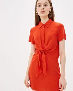 Платье прямое красный Ovs