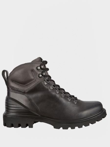 Кожаные ботинки - серые Ecco