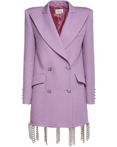 Шерстяной пиджак с карманами с манжетами Giuseppe Di Morabito