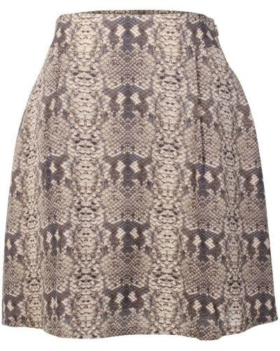 Wężowa fioletowa spódnica Marc By Marc Jacobs Vintage