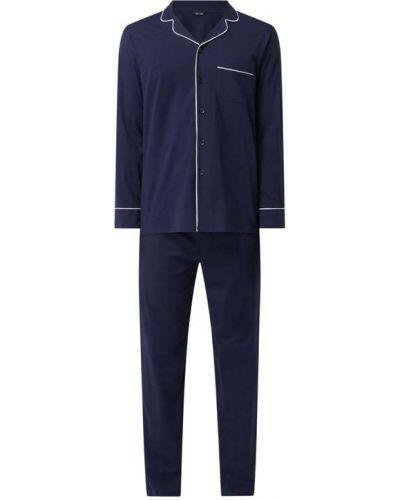 Piżama bawełniana - niebieska Hom