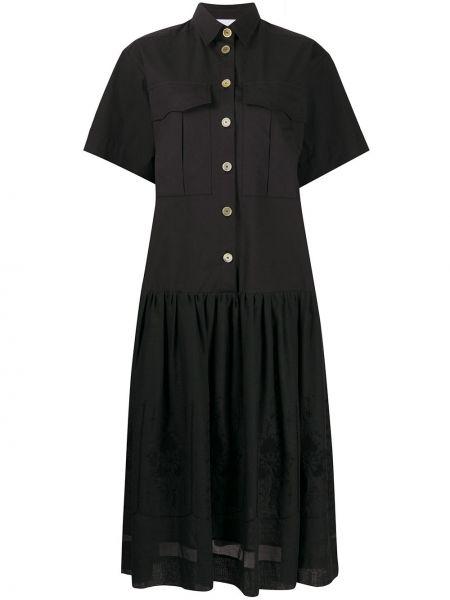 Платье мини миди на пуговицах Erika Cavallini