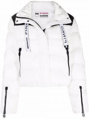Длинная куртка - белая Pinko