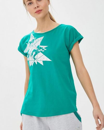 Зеленая футболка Grishko