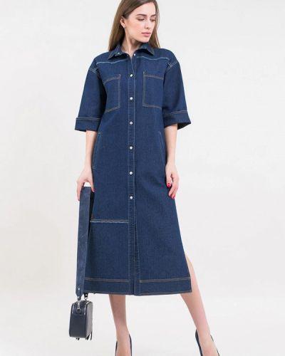 Джинсовое платье Maxa