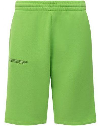 Хлопковые шорты - зеленые Pangaia