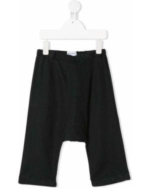 Przycięte spodnie czarne spodnie chuligańskie Wolf & Rita