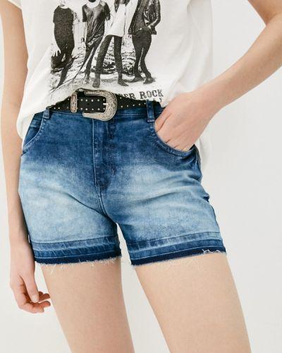 Синие джинсовые шорты Colcci