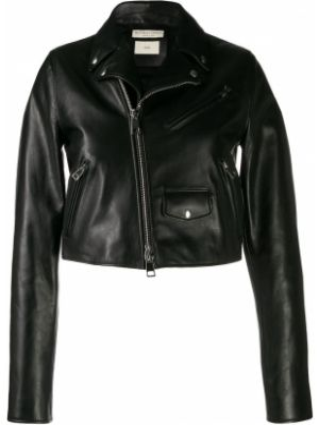 Куртка черная на молнии Bottega Veneta