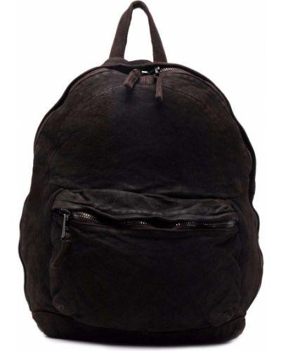 Brązowy plecak bawełniany Giorgio Brato