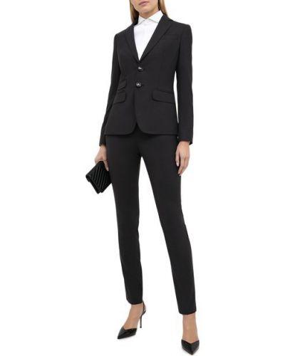 Серый шерстяной костюм с подкладкой Dsquared2