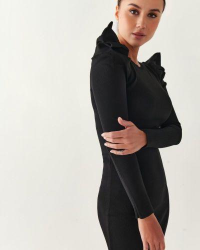 Облегающее платье мини - черное Gepur