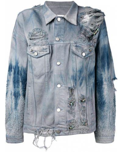 Синяя куртка Alchemist