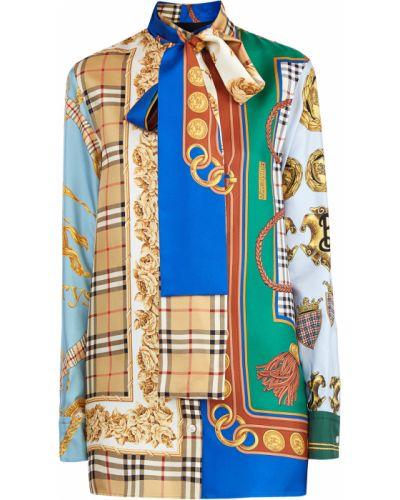 Блузка шелковая Burberry