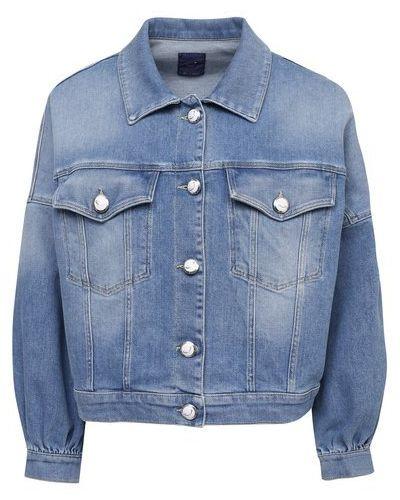 Хлопковая синяя джинсовая куртка Jacob Cohen
