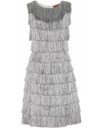 Платье с бахромой с завышенной талией Missoni