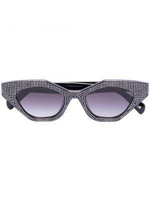 Czarne okulary z akrylu Chimi