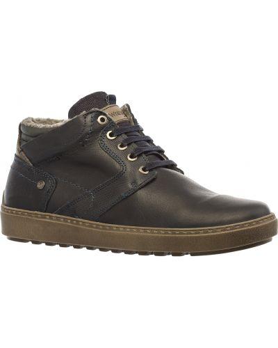 Кожаные ботинки с подкладкой Wrangler