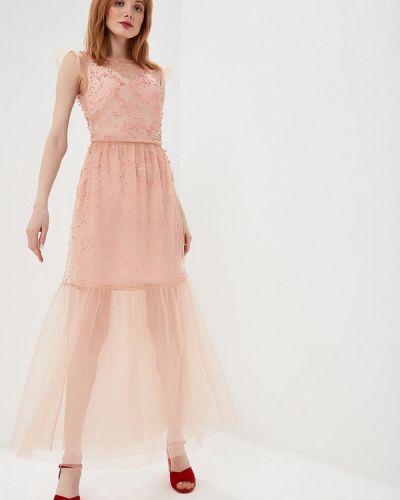 Вечернее платье весеннее красный Markus Lupfer