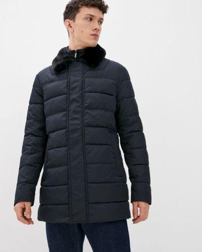 Синяя демисезонная куртка Madzerini