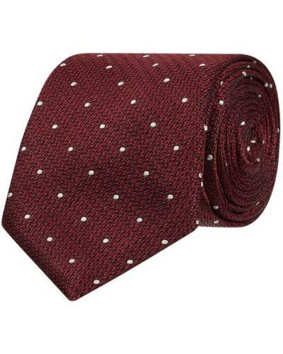 Klasyczny krawat z jedwabiu Tommy Hilfiger