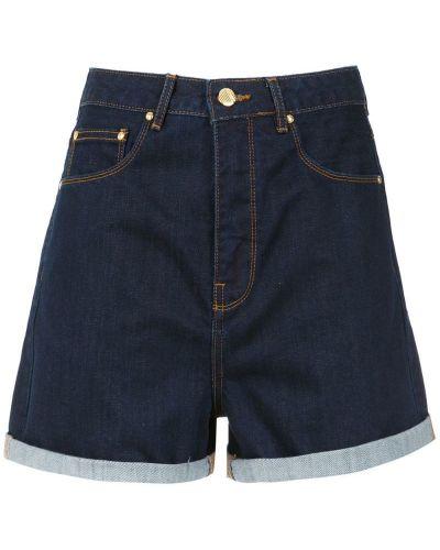 Однобортные шорты с карманами Amapô