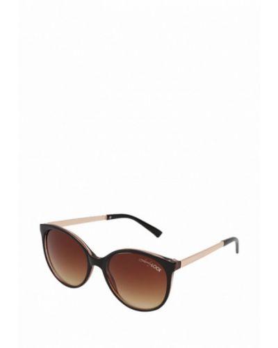 Солнцезащитные очки кошачий глаз коричневый Luckylook