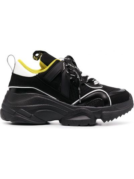Массивные черные кроссовки на шнуровке Essentiel Antwerp
