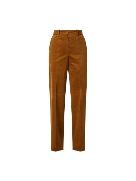 Bawełna bawełna brązowy chinosy z kieszeniami Hugo