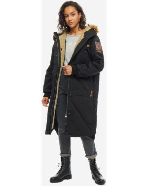 Куртка с капюшоном длинная Luhta