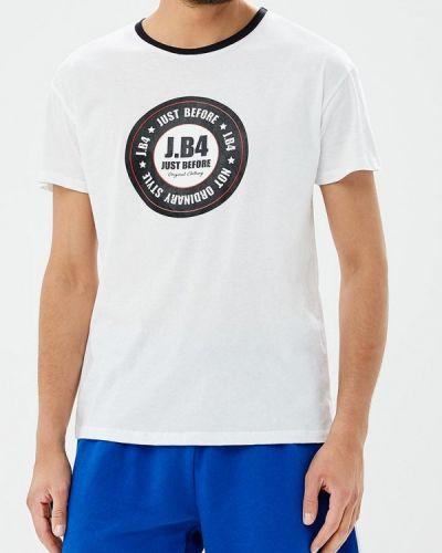 Белая футболка J.b4
