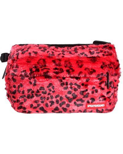 Красная сумка Sprayground