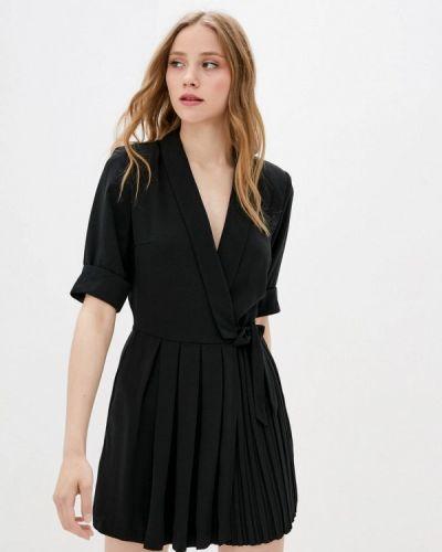 Черный комбинезон с шортами Only