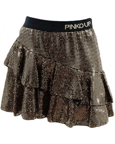 Spódnica z cekinami materiałowa Pinko