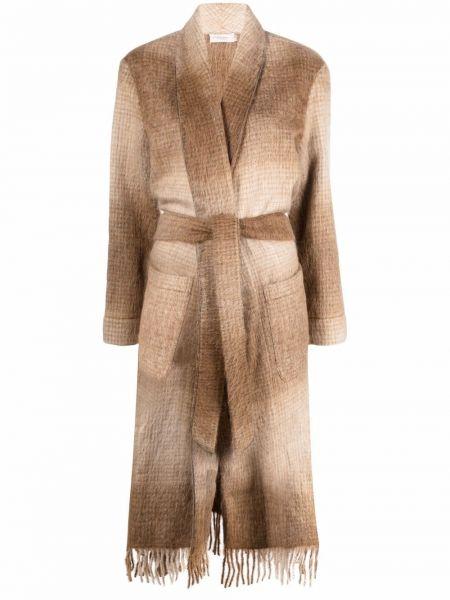 Пальто из альпаки Agnona