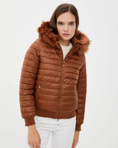 Коричневая куртка осенняя Z-design