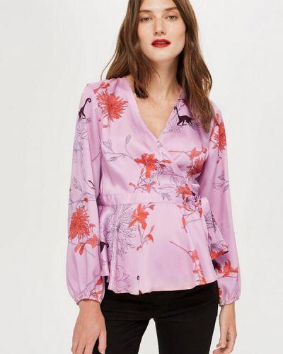 Розовая блузка с длинным рукавом Topshop Maternity