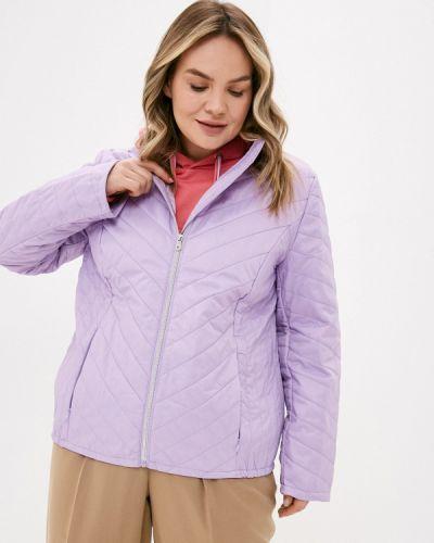 Фиолетовая утепленная куртка Ulla Popken