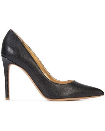 Кожаные туфли черные лодочки Vivienne Westwood
