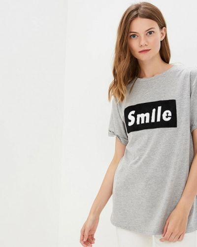 Серая футболка Brave Soul