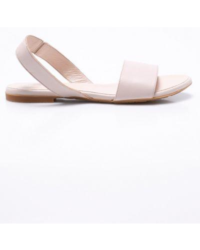 Розовые сандалии кожаный Gino Rossi