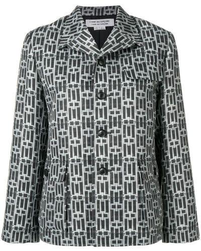 Рубашка с длинным рукавом с принтом на пуговицах Comme Des Garçons Comme Des Garçons