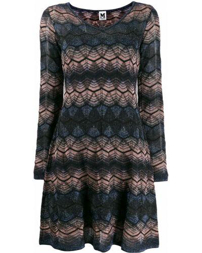 Платье макси с завышенной талией вязаное M Missoni