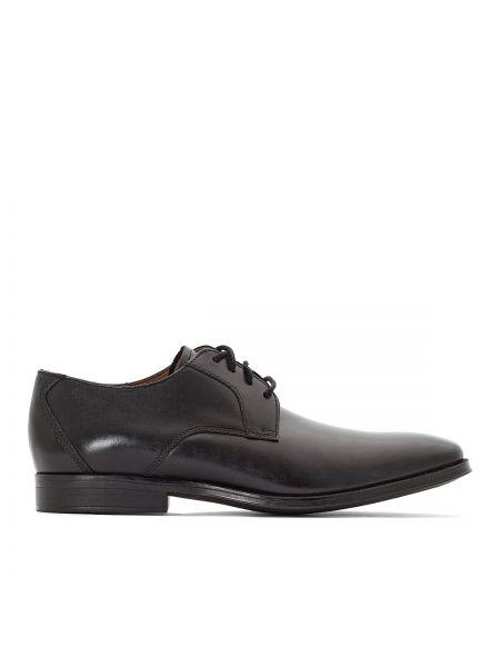 Кожаные ботинки на каблуке Clarks