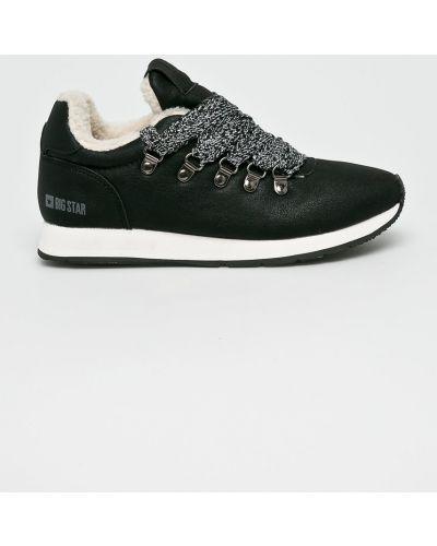 Черные кроссовки текстильные Big Star