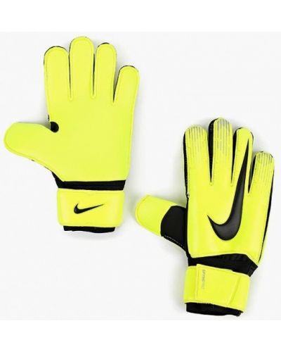 Желтые перчатки Nike