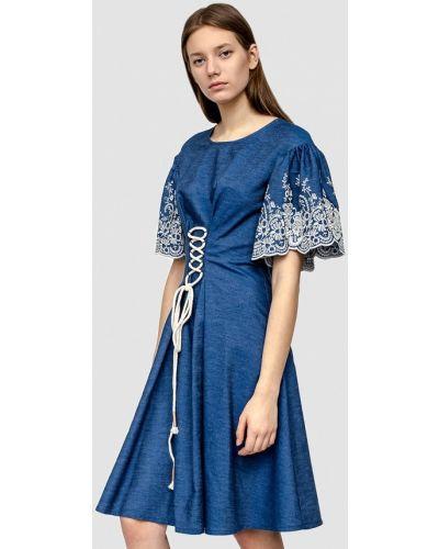 Повседневное платье джинсовое весеннее Dolcedonna