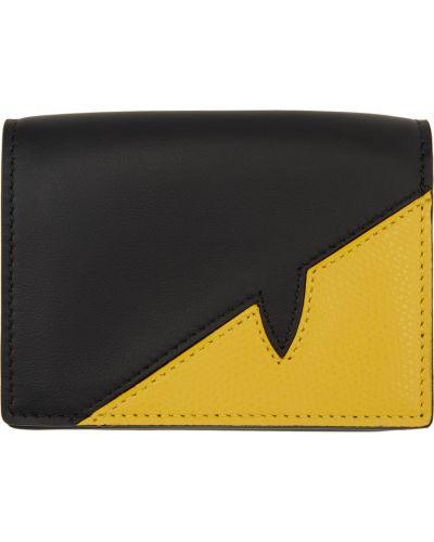 Czarny portfel Fendi