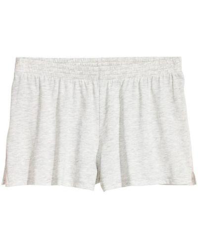 Серые пижамные шорты H&m